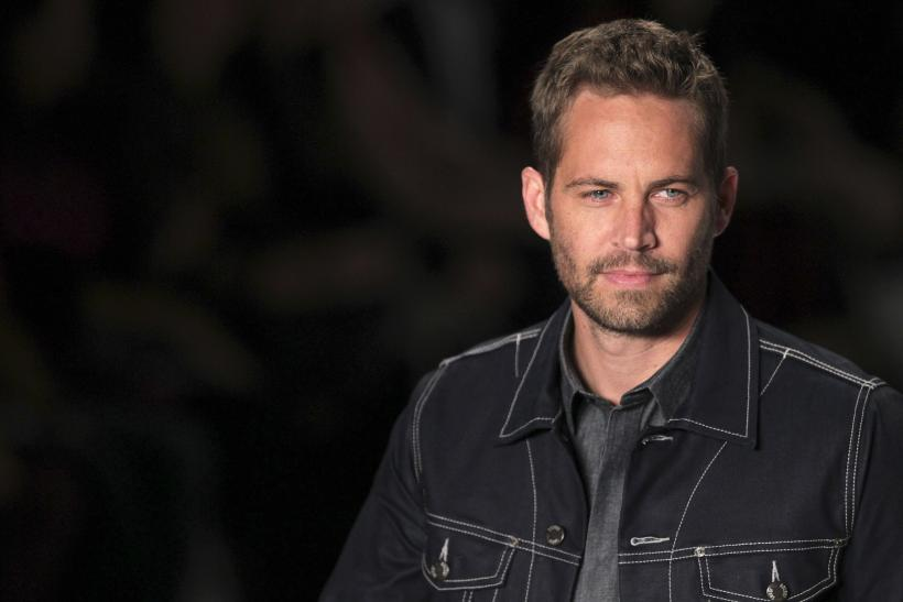 """Fast and Furious"" actor Paul Walker"