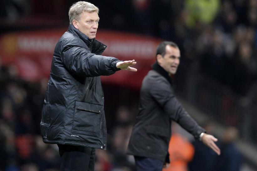 David Moyes, Roberto Martinez