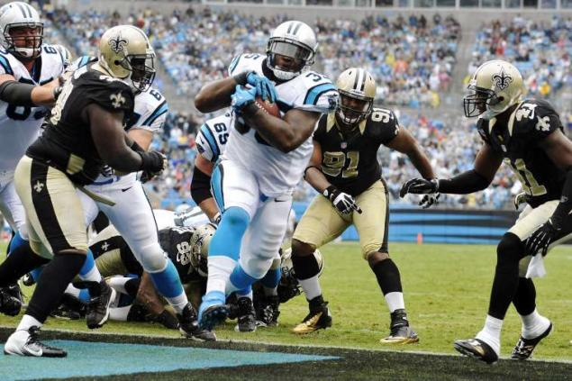 Carolina Panthers Saints