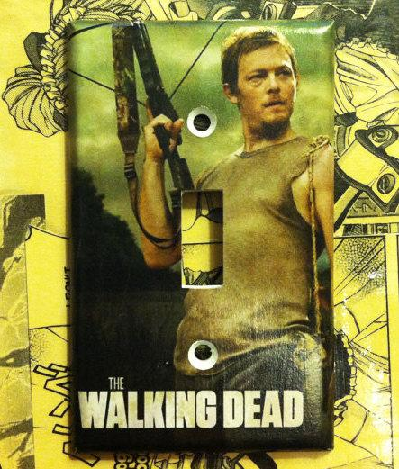 Daryl Dixon Light Switch Cover
