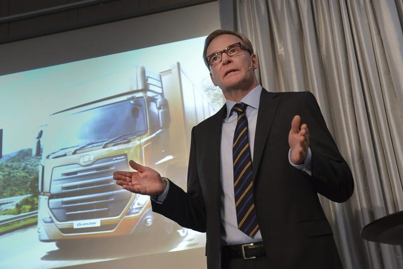 Olof Persson, Volvo Group President and CEO