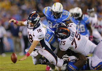 Chargers Need Win In Denver To Keep Playoff Hopes Alive