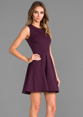 Kate's Plum Dress