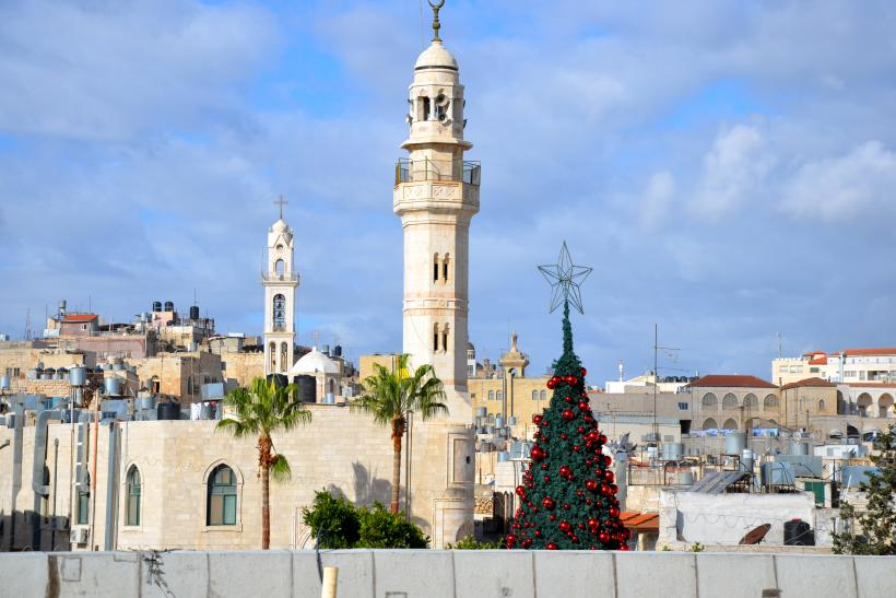Bethlehem Christmas view