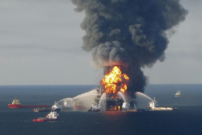 Deepwater Horizon Oil Well Explosion