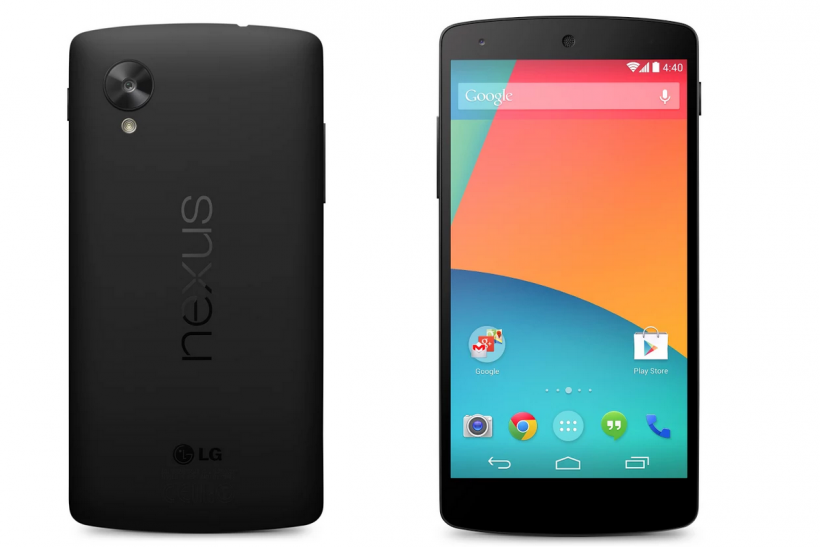 Nexus 5 review with dimensions size specs front and back