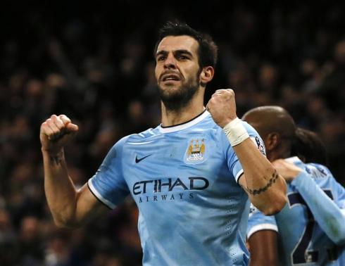 Negredo Keeps Up Scoring Run As Man City Sink Liverpool