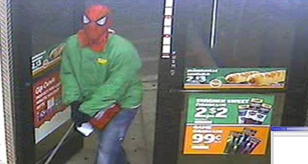 Spider-Man Robber