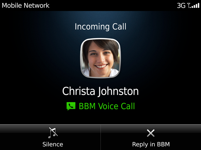 BBM for Android iPhone Update Voice Call Free Download