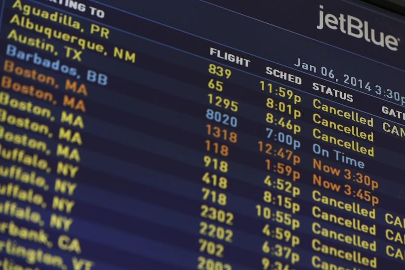 Jetblue flight cancellations