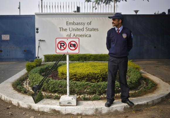 US Embassy In India