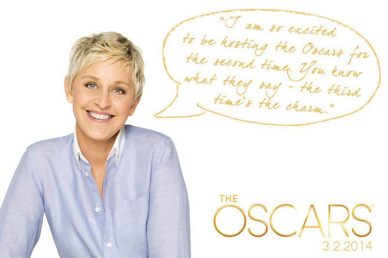 Ellen DeGeneres Oscars Host 2014 Leaked Leak Screener The Secret Life Of Walter Mitty