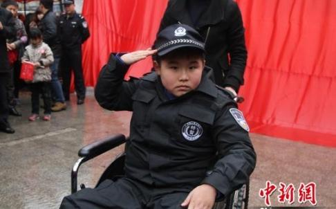 China's Very Own 'SF Batkid' Saves The Day?