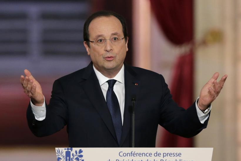France Hollande Jan 2014