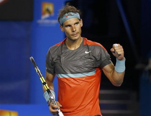 Nadal Thrives, Del Potro Beaten In Scorching Melbourne