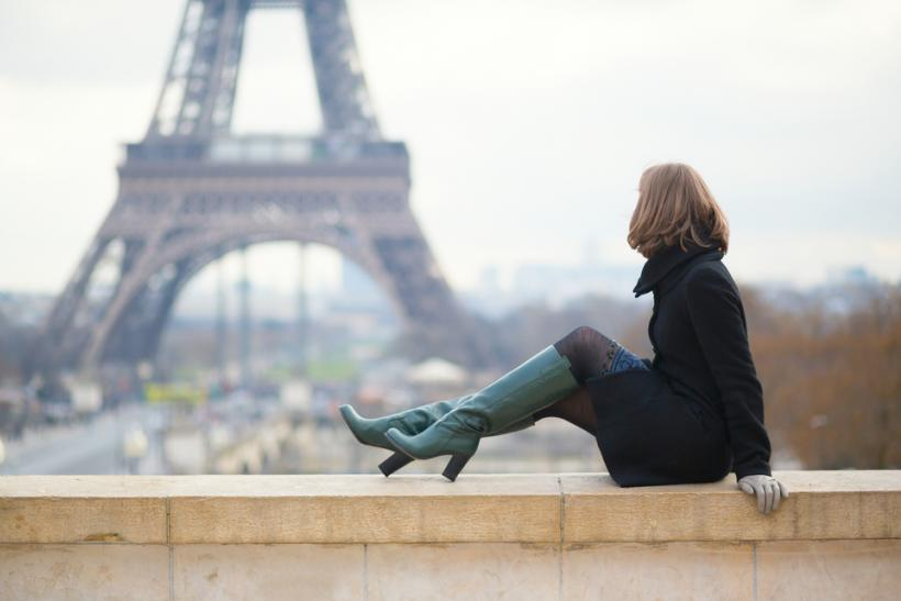 Paris tourist by Shutterstock