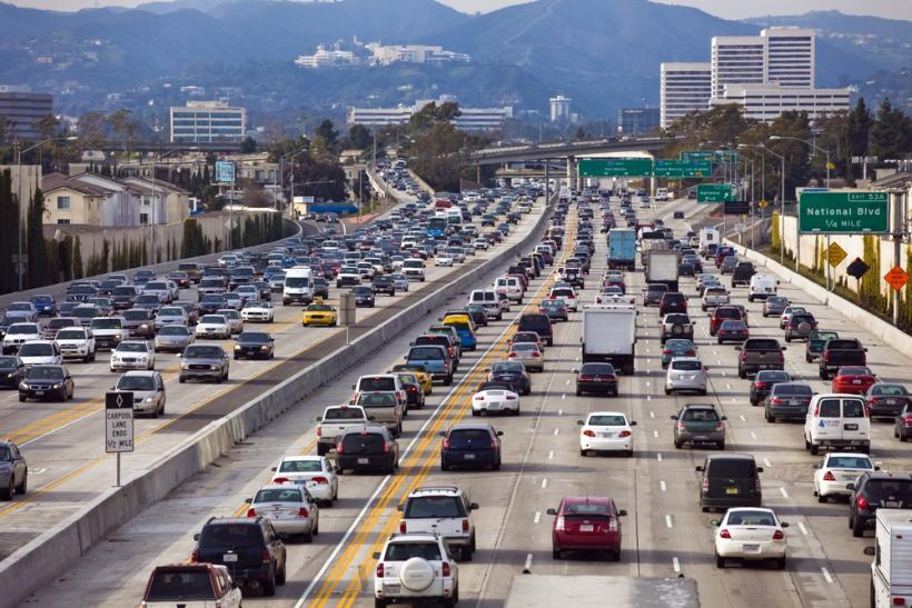 Los Angeles Freeway I-5 Shutterstock