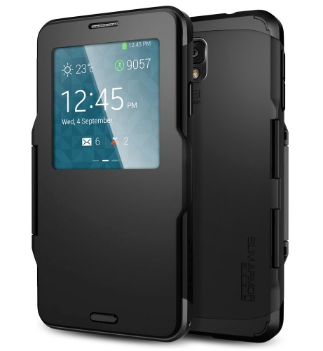 smart coverGalaxy Note 3 Case Slim Armor View