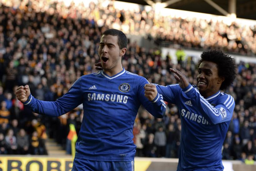 Eden Hazard, Willian