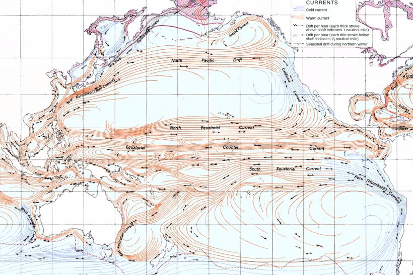 Pacific Ocean Current