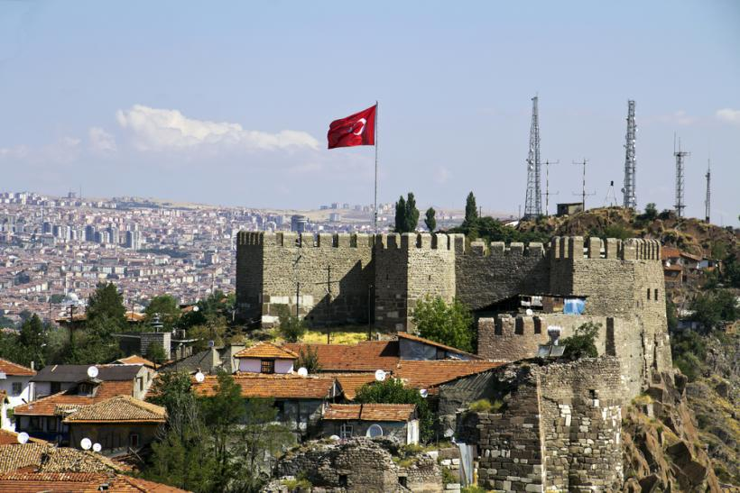 Ankara Castle Turkey by Shutterstock