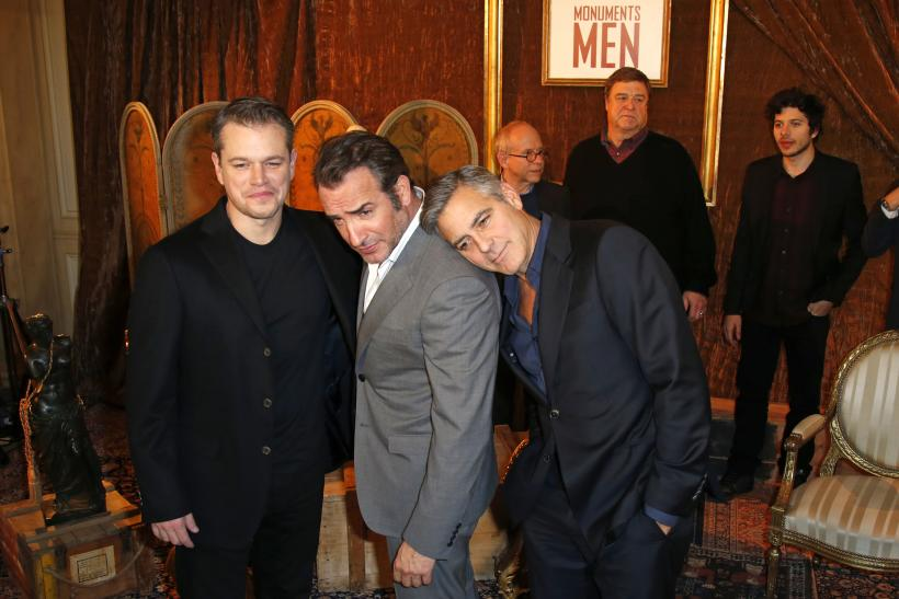 The Monuments Men cast