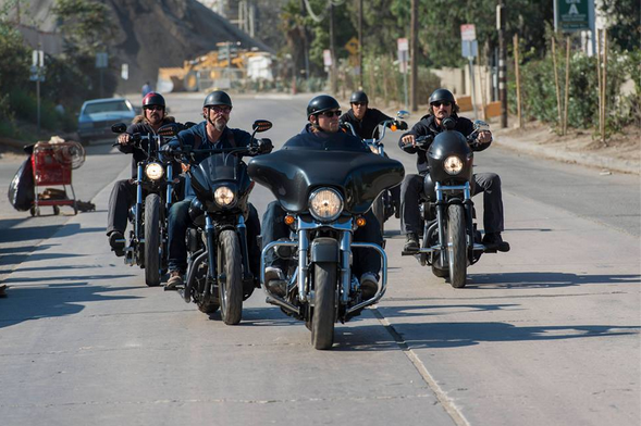 Bikes Ridden In Sons Of Anarchy Sons Of Anarchy Feud With
