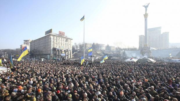 Ukraine Opposition Indep Sq 21Feb2014
