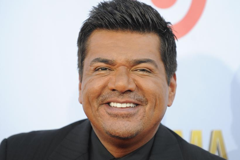 The 56-year old son of father Manuel Lopez and mother Benny Lopez, 178 cm tall George Lopez in 2017 photo