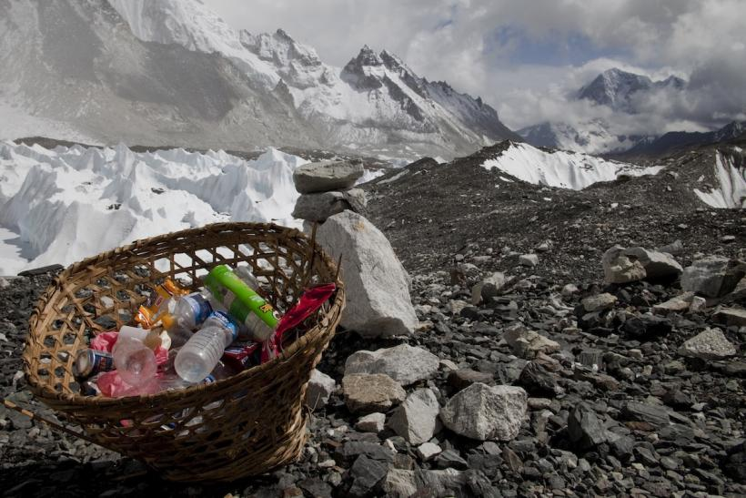 Mount Everest Trash
