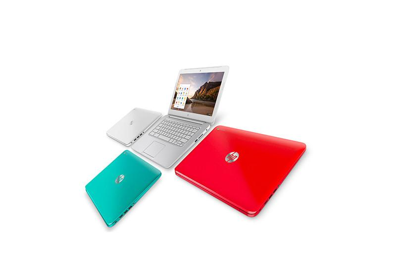 HP Chromebook 14 Review Colors