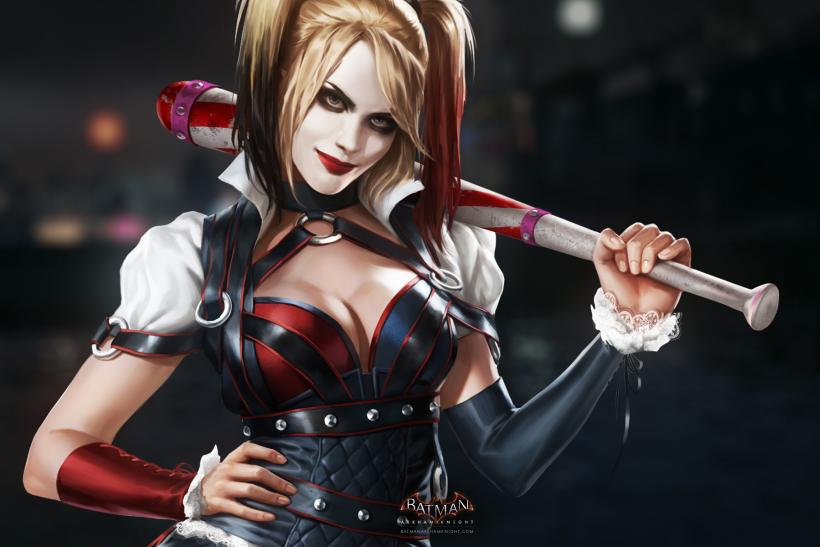 Batman Arkham Knight Girl jpg