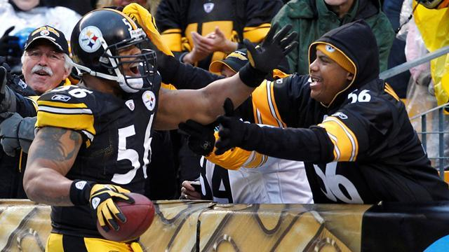 LaMarr Woodley Pittsburgh Steelers