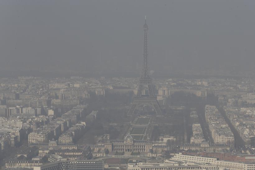 Paris air pollution