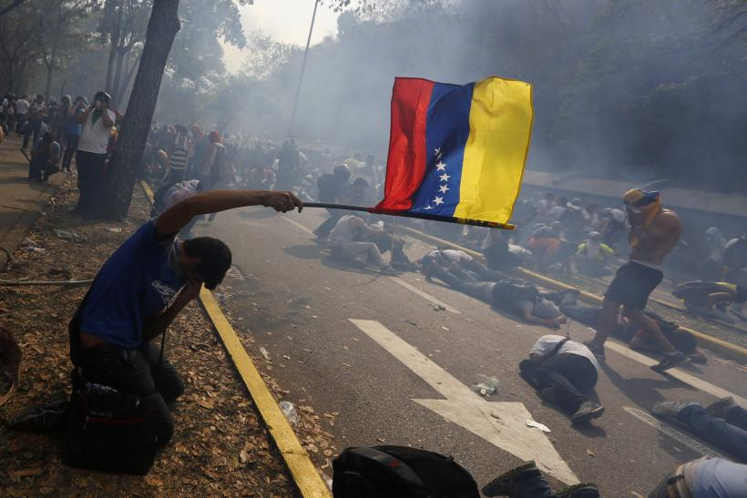 Venezuela Protesters Cover March 12