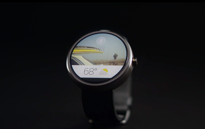 Round Face Google Android Wear Wearables Nexus Smartwatch