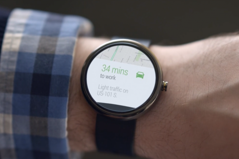 Moto 360 Android Wear Google Smartwatch