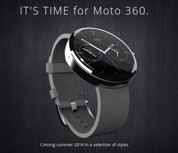 Moto 360 Watch Release Date Approaches: Will Motorola ...