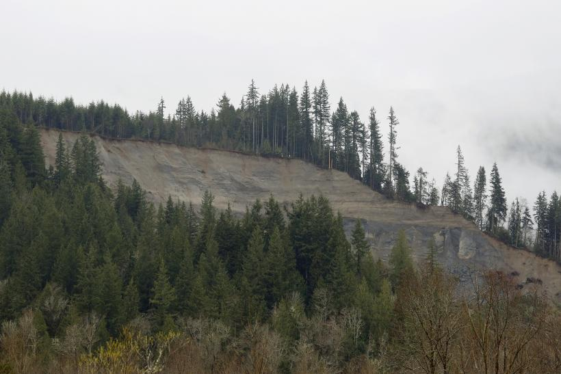 Washington mudslide site