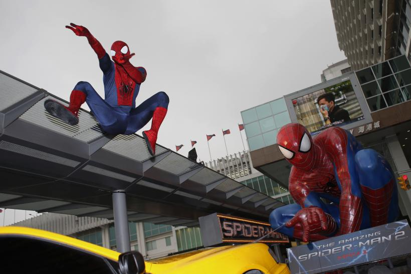 Spiderman 2 promotion