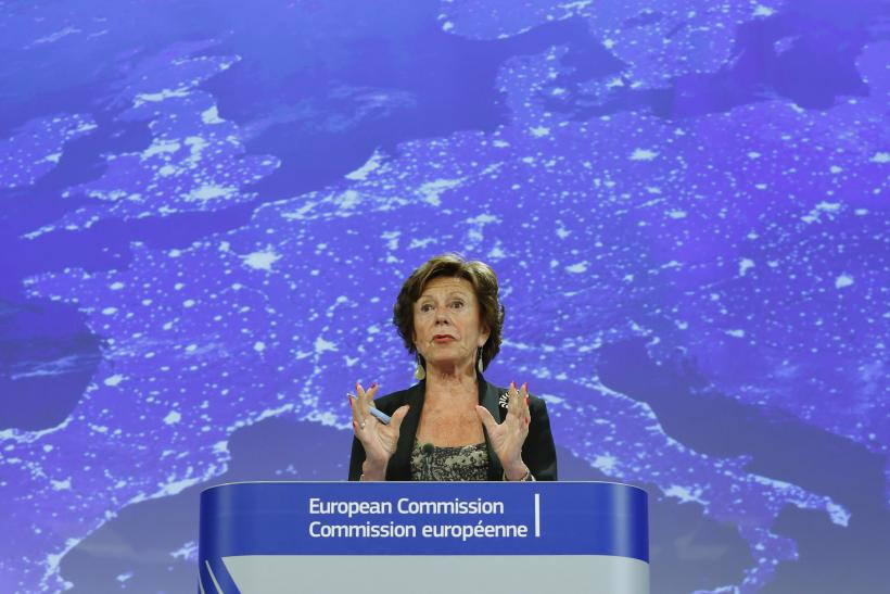 Neelie Kroes Roaming Charges