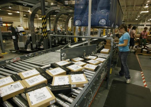 Amazon Warehouse Kentucky 2009 Getty Images