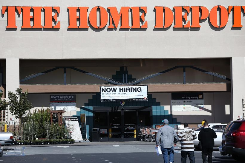 Home Depot now hiring 2013