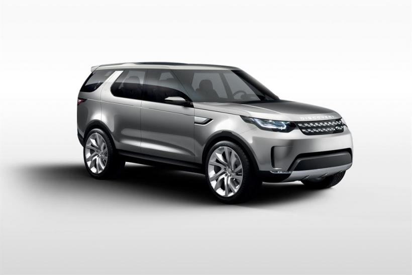 Land Rover Discovery Vision Concept Car Debut: Watch The 2014 New York ...