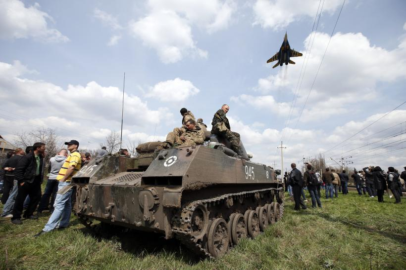 Ukraine Armed Forces 16April2014