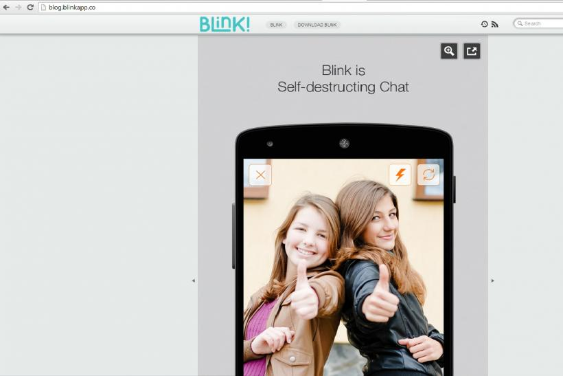 Blink Messaging1