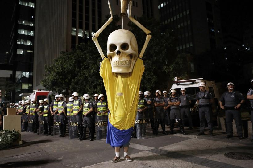 Brazil Protests Against FIFA