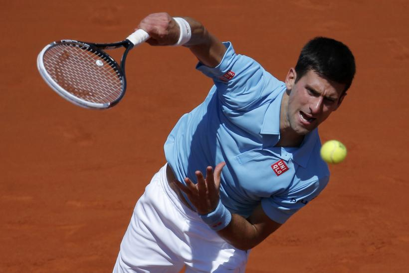 Novak Djokovic French Open 2014