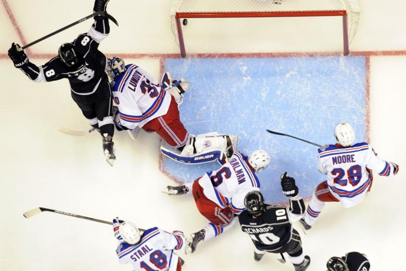 Kings Rangers Stanley Cup Game 2 2014