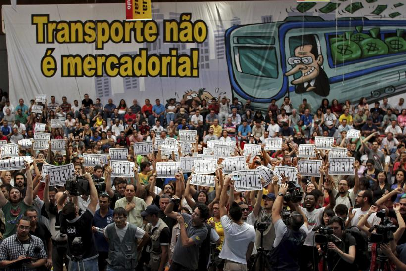 Brazil Transport Strike